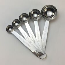 Stainless Steel Measuring Spoons 5-Piece Set,