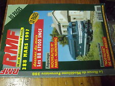 µ? revue RMF n°388 BB 67000 CF vallée de l'Ouche Morez-Saint Claude