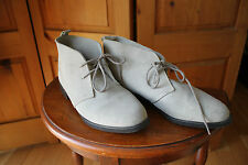 Vintage Gray Suede Chukka Desert Boot Grey Shoes Made in Canada