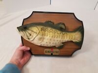 1999 Big Mouth Billy Bass Animated Singing Fish - Gemmy Industries WORKS TESTED
