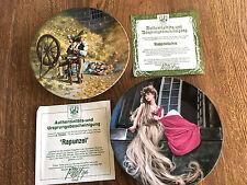 The Bradford Exchange Plates – 2 Grimm's Fairy Tales Series (1980s)