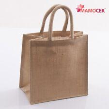 19d62277c4 BORSA borsina JUTA yuta confezioni regalo borsetta 25x15 h25 da decorare  piccola
