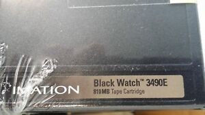 New - 30x Imation Black Watch 3490E 810mb Tape cartridge