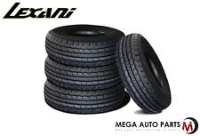 4 X New Lexani LXHT-106 P225/65R17 102T All Season Performance SUV Tires