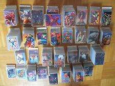 2100 Karten / 31 Sammelkarten Sets Flair 94 95 X-Men Fleer Ultra Masterpieces 93