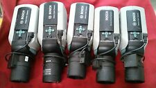 Lot of 5 Bosch LTC0455/21 CCTV Security Surveillance Camera w/(2-12mm or 5-50mm)