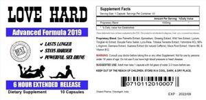 Male Enhancement Pills Men Sexual Performance Enhancer 10Pills
