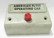AMERICAN FLYER TRAINS S SCALE ( LT GRAY OPERATING CAR CONTROLLER )FREE SHIPPING