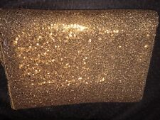 LARGE 49 X 96 RECTANGULAR GOLD SHIMMER SEQUIN TABLECLOTH PARTY BLING CURTAIN