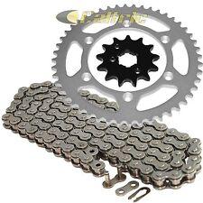 Drive Chain & Sprockets Kit Fits KAWASAKI KX250 1990 1991 / KDX250 1991-1994