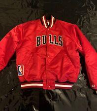 Starter Jacke Chicago Bulls Size XL NBA 🏀🏀🏀 Retro Vintage Bulls JACKET