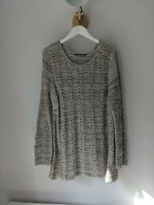 Peruvian Connection Pima Cotton Knitted Jumper xl