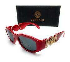 Versace VE4361 533087 Red Men's Irregular Sunglasses 53-18