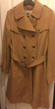 Burberry Wool Trench Coat, Women 12, Was $1295