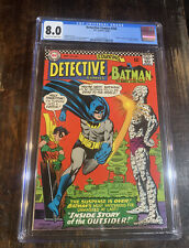 Detective Comic 356 CGC 8.0 ⭐️1st Appearance Of The Outsider⭐️⭐️⭐️