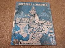 TSR D&D Silver Anniversary Blue Rulebook
