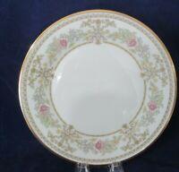 Lenox Castle Garden Floral Gold Rim Dinner Plate EUC 1973-1993