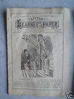 May 13 1894 Booklet Little Learner's Paper Childrens Stories