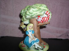 Vintage Alice In Wonderland Cheshire Cat March Hare Walt Disney Productions WDP