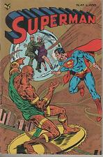 SUPERMAN  cenisio  N. 41 - 1979   LA TEMPESTA DI SABBIA CHE SOFFOCAVA METROPOLIS