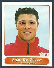 PANINI SUPERPLAYERS 1998 #072-BARNSLEY-ARJAN DE ZEEUW