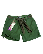 US Army Shorts Women Ladies Shorts Olive Size M RIPSTOP HOT PANTS STYLE