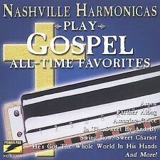 Play Gospel All-Time Favorites by Nashville Harmonicas (CD, Aug-2002, Power Pak)