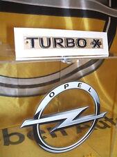 """Original Opel Schriftzug Aufkleber """" Turbo 4X4 """" Neu!!!"""