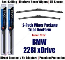 2pk Super-Premium NeoForm Wipers fit 2014+ BMW 228i, xDrive - 162213/1813