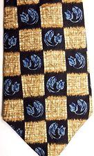"Countess Mara Men's Silk Tie 56.5"" X 3.75"" Multi-Color Floral Geometric"