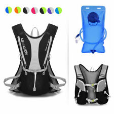 5L Sports Cycling Hiking Running Backpack Hydration With 2L Water Bladder Bag