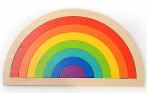 Rainbow Arches Puzzle Kids Childrens Creative Puzzles