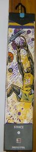2017 STANCE SHAQ NBA LEGENDS SHAQUILLE O'NEAL SOCKS NWT SIZE L (9-12) LAKERS