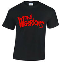 THE WARRIORS Mens T-Shirt COOL RETRO FILM MOVIE 80'S HIPSTER CULT TV VINTAGE