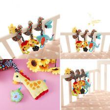 Baby Crib Cot Pram Hanging Rattle Spiral Stroller Car Seat Pushchair Toy Gift US