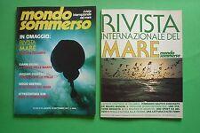 Magazine MONDO SOMMERSO N.206 1977 + supplemento Rivista internazionale del mare