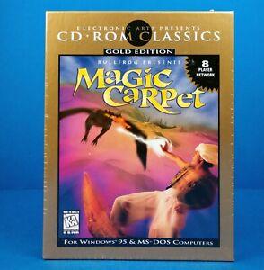 Bullfrog Presents Magic Carpet PC CD ROM EA Classics 1996 Unopened Video Game