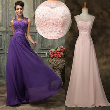 Amazing Lace Wedding Bridesmaid Graduation Formal EVENING Prom Long Dresses 6-20