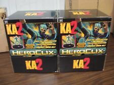 Heroclix KA2 Kick Ass 2 Movie Gravity Feed Sealed 2 Boxes 24 Packs ea