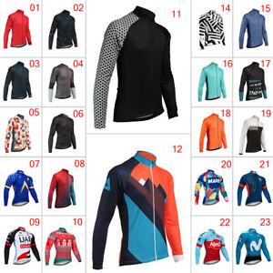 2020 Cycling Long Jerseys Bike Clothing Jackets Mens MTB Jersey Tops Outfits Pro