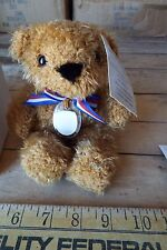 Small Beverly Hills Teddy Bear - Stuffed Bear in Original Box - Collectible