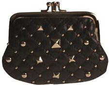 Porte-monnaie et portefeuilles pochette noire pour femme