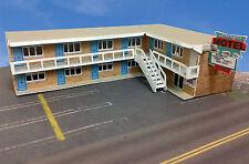 "Z Scale Building - "" Twilight"" Motel Pre-Cut Card Stock (Paper Kit)"