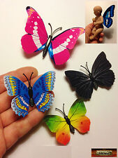 M00079-C02 MOREZMORE 4 Mini Fairy Magnet Butterfly Wings for OOAK Doll Baby