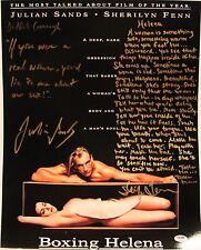 "JULIAN SANDS & SHERILYN FENN Signed ""Boxing Helena"" 16x20 Photo PSA/DNA #Y94566"