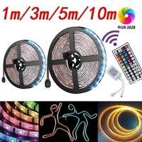LED-SMD 3528 Flexible RGB Light Strip+44Key Infrared Remote Control