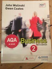 AQA A Level Business 2 Third Edition (Wolinski & Coates) by Gwen Coates, John...