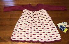 KicKee Pants Toddler Girl Natural Pig Swing Dress 2T New
