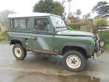 LAND ROVER 1989 DEFENDER 90 COUNTY 200 TDI PROJECT