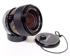 Canon FD 28 mm F/2 SSC Fast Grand Angle Premier objectif | BS55 lens hood | Excellent +